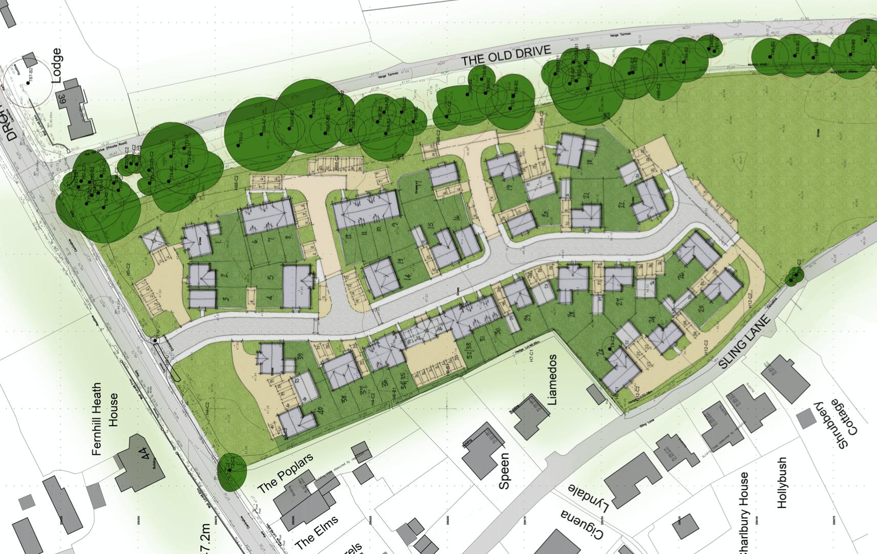 Twigworth - Site Plan